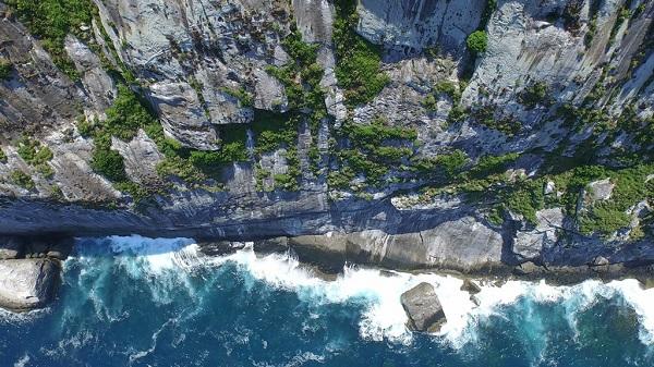 Do không hề có sự can thiệp của con người, môi trường tự nhiên trên đảo được giữ ở trạng thái hoang sơ. Ảnh: Soul Peruíbe.