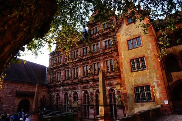 Góc rêu phong ở Heidelberg (Đức). Ảnh: Công Nhật