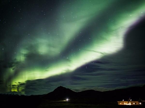 Snaefellsnes Peninsula, Iceland đón du khách đông đảo tới dự các sự kiện ngắm cực quang trong cả tháng 1, trong đó sự kiện chính được tổ chức vào ngày 31/1.