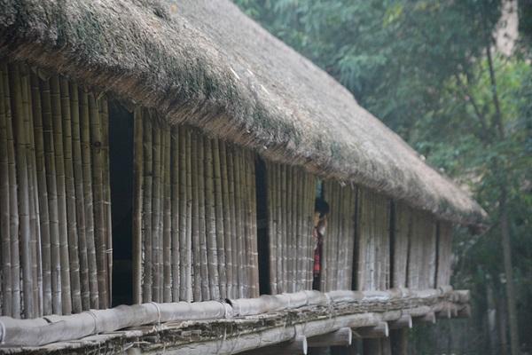 Nhà dài của người Ê đê được xây dựng chủ yếu là gỗ, tre nứa các loại. Riêng mái thường lợp bằng cỏ dày trên 20 cm. Phần sàn cao hơn mặt đất chừng một mét, dưới để thoáng chứ không chăn nuôi như nhà sàn ở miền bắc.  Nhà dài là nơi cư trú của cả gia đình, càng đông người nhà càng dài. Theo tài liệu tại Bảo tàng Dân tộc học, xưa kia từng có những nhà dài gần 200 m. Nhà có các cửa sổ thoáng cách đều nhau để thông khí và lấy ánh sáng.