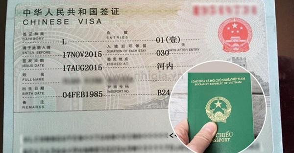 Du khách Việt Nam không nằm trong nhóm các nước được miễn visa vào Trung Quốc.
