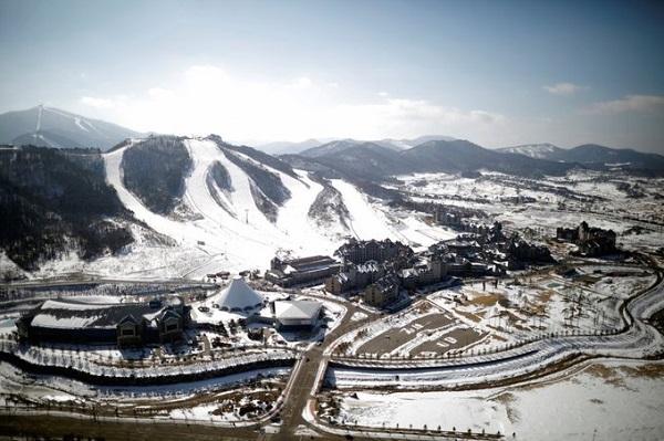 """Nằm ở độ cao 700 m so với mức nước biển, nơi đây được mệnh danh là """"dãy Alps của Hàn Quốc"""" với 80 % lãnh thổ là đồi núi. Ảnh: Reuters."""