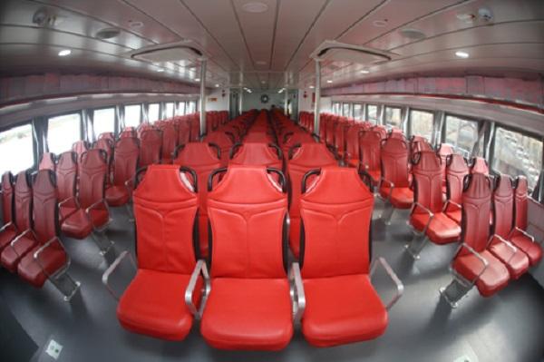 Các ghế sẽ được trang bị phao cứu sinh và một số ổ cắm.