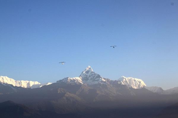 Đỉnh Machhapuchhre ở Nepal