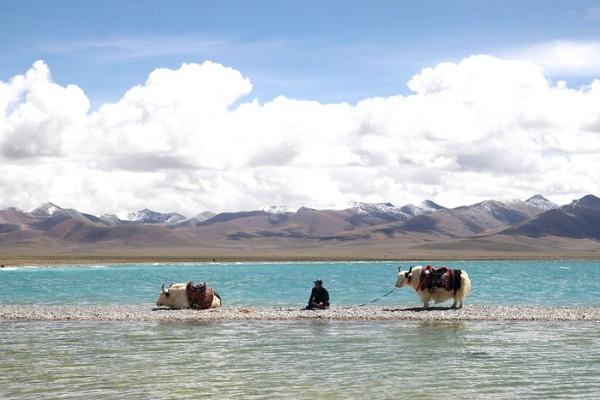 Thánh hồ Namtso ở Tây Tạng