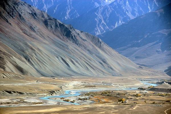 Thị trấn Padum miền Bắc Ấn Độ