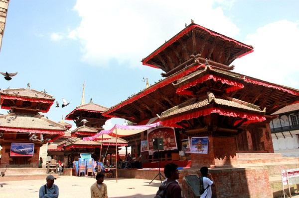 Dubar Square ở Kathmandu