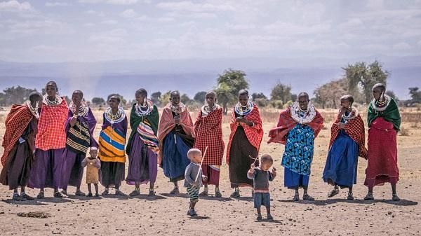 Đàn ông Maasai được cưới nhiều vợ