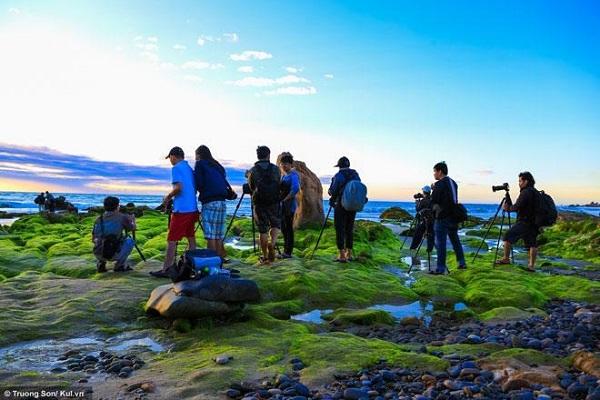Đây là địa điểm cắm trại cũng như sáng tác ảnh được nhiều nhiếp ảnh gia tìm đến