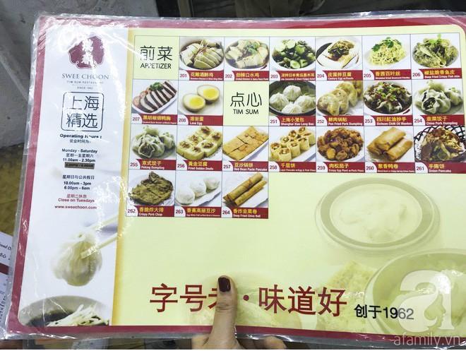 Tờ menu rời có hình ảnh giúp khách chọn món dễ dàng hơn. (Ảnh HT)