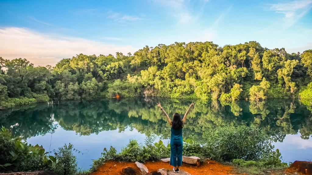 Pulau Ubin vẫn giữ nguyên vẹn nét hoang sơ từ phong cảnh thiên nhiên đến cuộc sống của người dân trên đảo. Ảnh: Alexis.