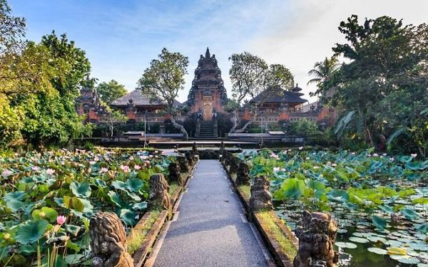 Bali, Indonesia  Bali có nhiều khu nghỉ dưỡng, khách sạn cao cấp, quán cà phê, bar để du khách tụ tập, tận hưởng cuộc sống địa phương. Tuy nhiên, biển và rừng mới là những nơi hấp dẫn hơn cả. Bờ biển Bali nổi tiếng với những bãi như Kuta, Padang Padang, hay Uluwatu, rừng và những thửa ruộng bậc thang phải nhắc tới Ubud.