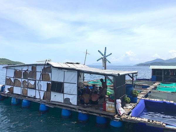 Những người con miền Trung thuộc các tỉnh thành khác nhau quy tụ tại Bích Đầm để an cư lập nghiệp với nghề đánh bắt hải sản - Ảnh: Bông Mai