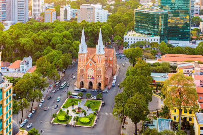 Thành phố Hồ Chí Minh. Ảnh: Telegraph