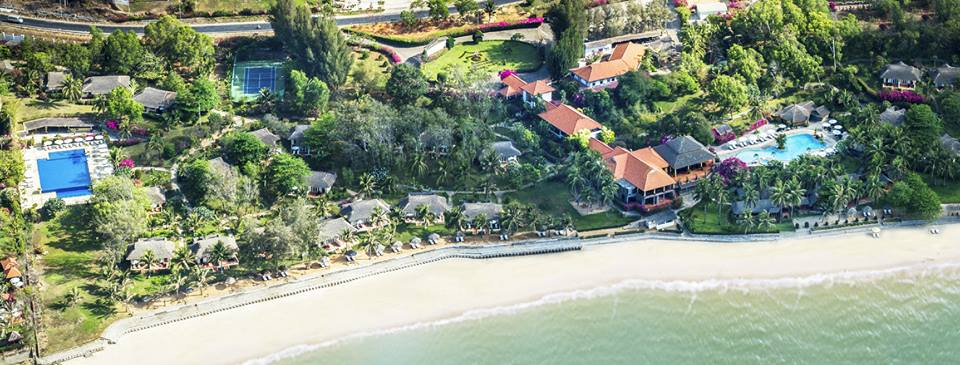 Nhũng bungalow tại Victoria nằm ẩn hiện trong khu vườn nhiệt đới xanh mát mướt mắt