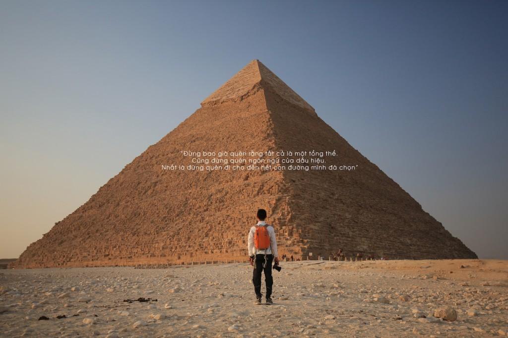 """Chuyến đi của Tâm Bùi được lấy cảm hứng từ cuốn sách nổi tiếng """"Nhà giả kim"""""""
