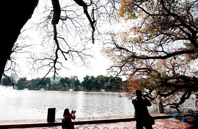 Khung cảnh lộc vừng bên hồ tạo cảm hứng cho nhiều nhiếp ảnh gia chuyên nghiệp lẫn không chuyên.