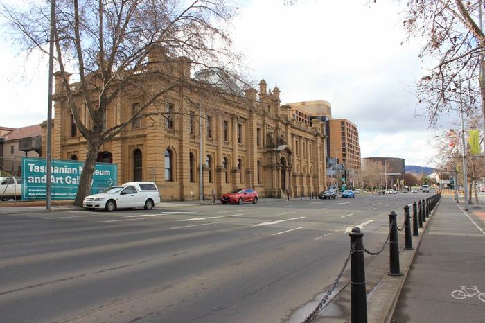 Đường phố ở Hobart
