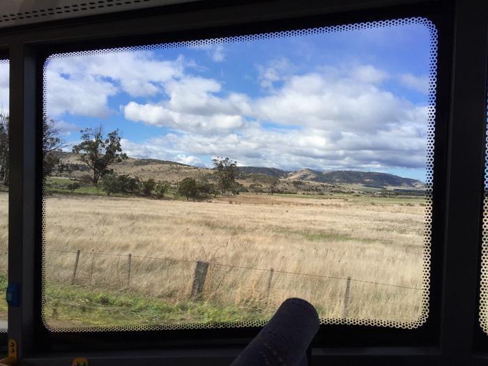 Thiên nhiên hoang dã Tasmania qua cửa kính
