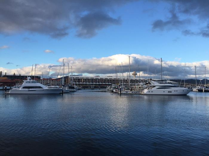 Bến tàu ở Hobart