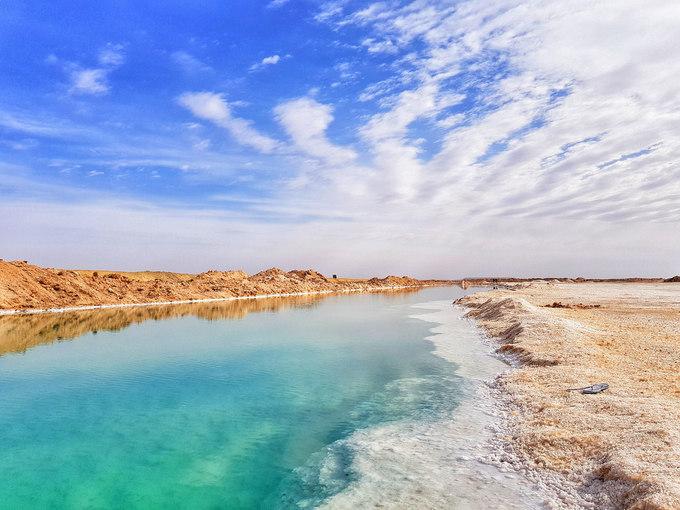 Theo Hoàng Lê Giang, Ai Cập không chỉ có sông Nile, kim tự tháp mà còn những ốc đảo, bờ biển ở đây cũng đẹp và độc đáo.