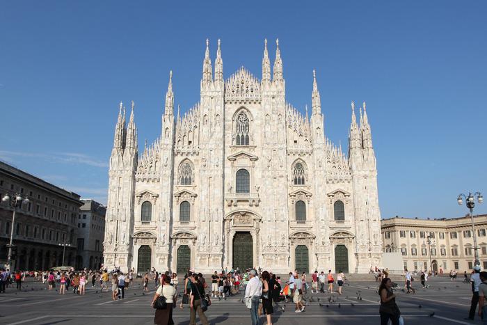 Nhà thờ Duomo mất tới gần 600 năm để hoàn thành. Ảnh: Jessica Norah