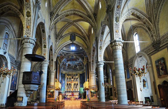 Bên trong nhà thờ Duomo. Ảnh: Jessica Norah