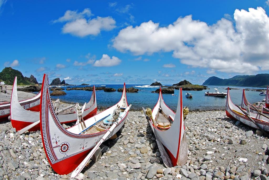 Đảo Lanyu sở hữu bãi biển đẹp, là một trong những nơi lặn biển lý tưởng ở Đông Á.