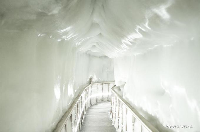 Trong khi vào mùa hè, nhiệt độ phải đủ cao để làm cho tuyết tan chảy mà không đến mức làm ấm hết không khí trong động. Thiên nhiên đã tạo ra một sự cân bằng hoàn hảo của mọi yếu tố giúp cho động băng này hình thành và tồn tại.