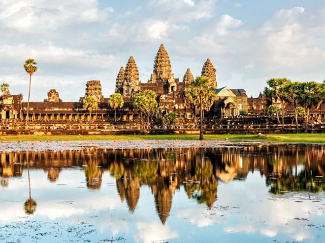 Siem Reap là một trong những trung tâm du lịch lớn của Campuchia. Ảnh: Internet.