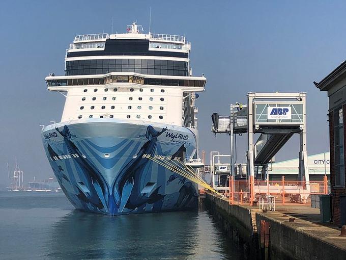 Du thuyền siêu sang này là sự kết hợp giữa một khách sạn xa xỉ và một công viên nổi trên mặt nước.