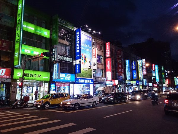 Những người lái xe ở Đài Loan rất tuân thủ luật lệ giao thông.