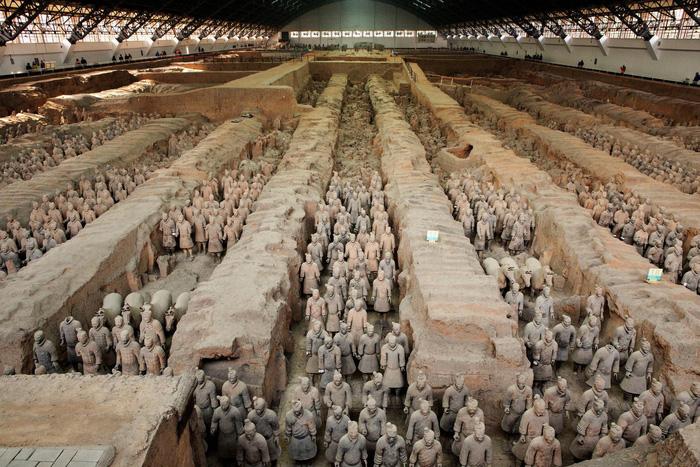 Bảo tàng Binh Mã Dũng được coi là kỳ quan thứ 8 của thế giới. Ảnh: CNN Travel