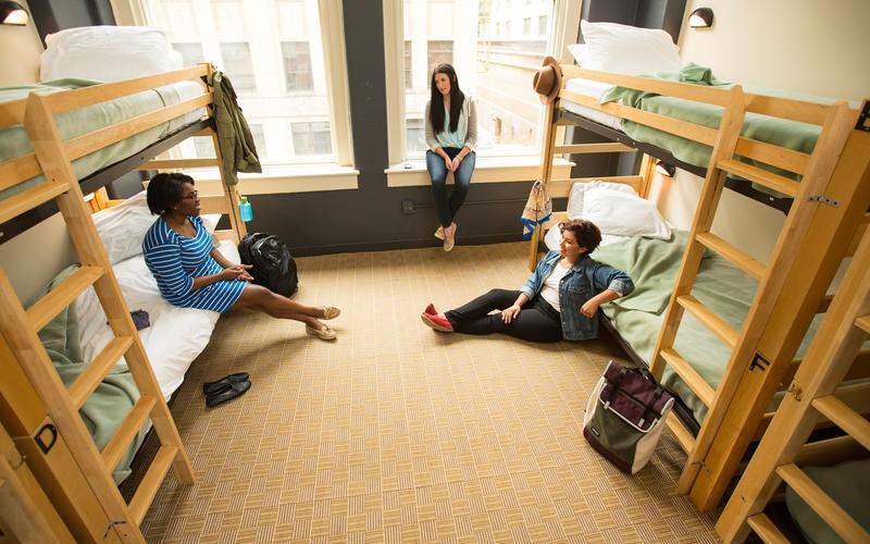 Nhà trọ tập thể là lựa chọn số một của những du khách muốn tiết kiệm chi phí - Ảnh: HI Chicago