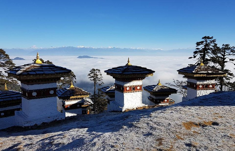 Một trong những hình ảnh đặc trưng ở Bhutan - Ảnh: Hải Piano