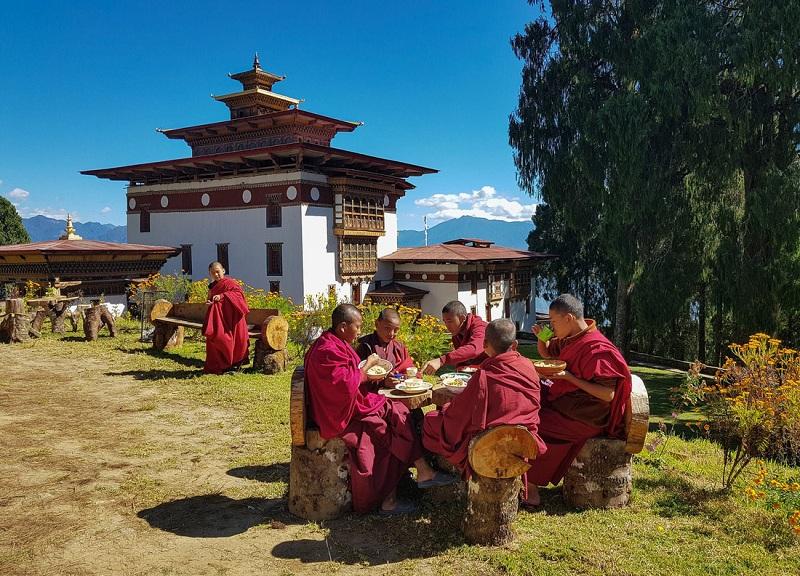 Mùa hạ ở Bhutan - Ảnh: Hải Piano
