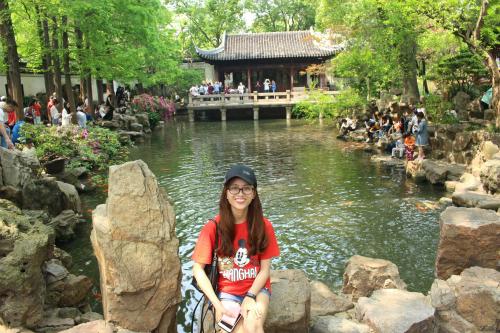 Vườn Yu Yuan ở Thượng Hải.