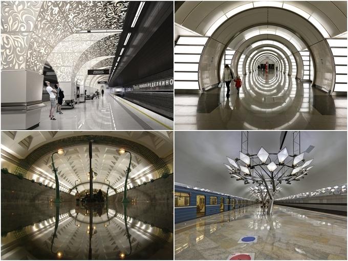 Những năm gần đây, hệ thống metro của Nga càng phát triển nhanh để phục vụ cho World Cup 2018, xây thêm 39 trạm trong thời gian 2 năm (2015 - 2017). Các kiến trúc này vẫn chú trọng vào thiết kế nội thất, đèn thắp sáng cầu kỳ, tinh tế thay vì những bóng đèn trắng nhàm chán ở trạm tàu điện của các quốc gia khác, khiến du khách thích thú.