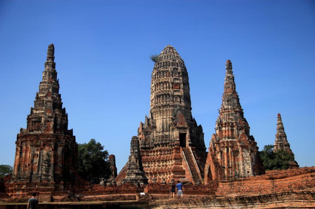 Cố đô Ayutthaya một thời vang bóng. Ảnh: Dương Quán Hạ