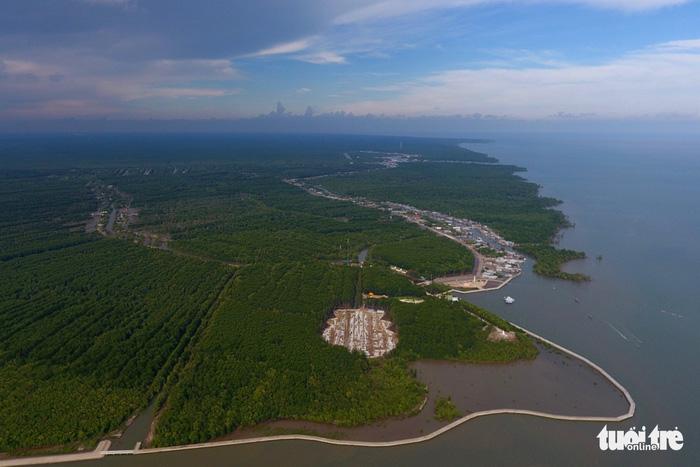 Vào tháng 5-2009 rừng ngập mặn Mũi Cà Mau được UNESCO công nhận là khu dự trữ sinh quyển thế giới - Ảnh: HỮU KHOA