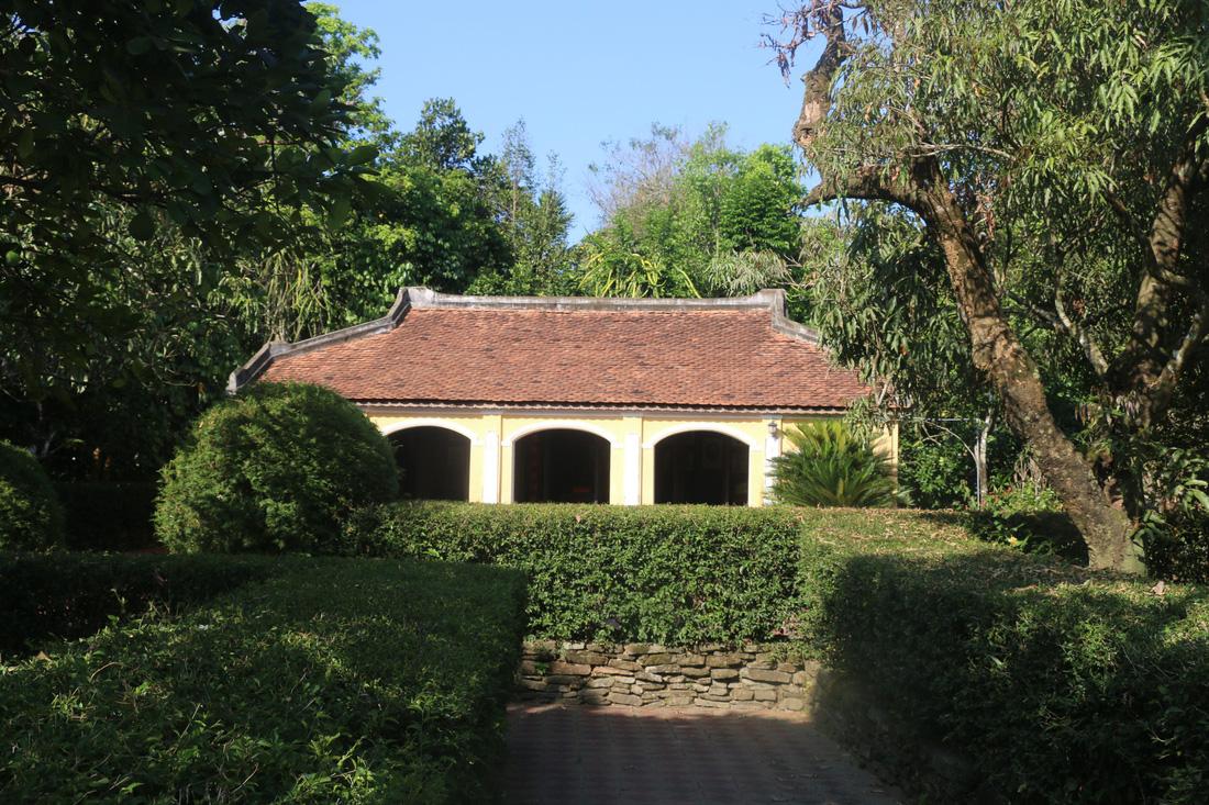 Nhà lưu niệm Song Nguyên Huỳnh Thúc Kháng. Ảnh: NVM