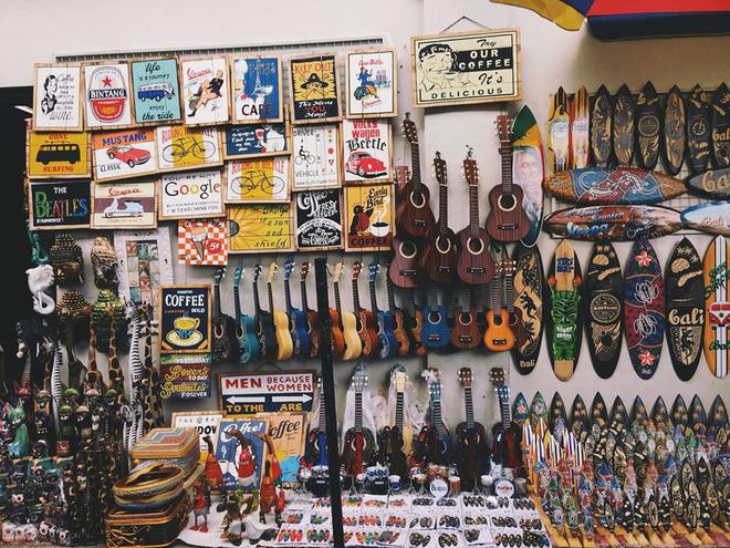 Khu chợ ở Ubud