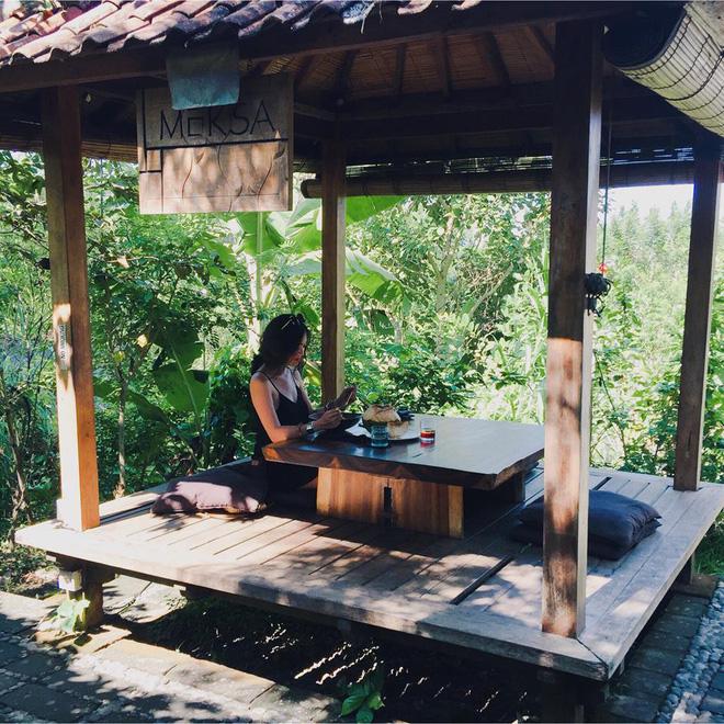 Một quán cafe đẹp ở Ubud.
