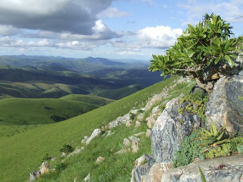 Dãy núi Barberton Makhonjwa, Nam Phi Dãy núi nằm ở đông bắc Nam Phi, gồm 40% là đá xanh lục Barberton, một trong những cấu trúc địa chất lâu đời nhất trên trái đất.