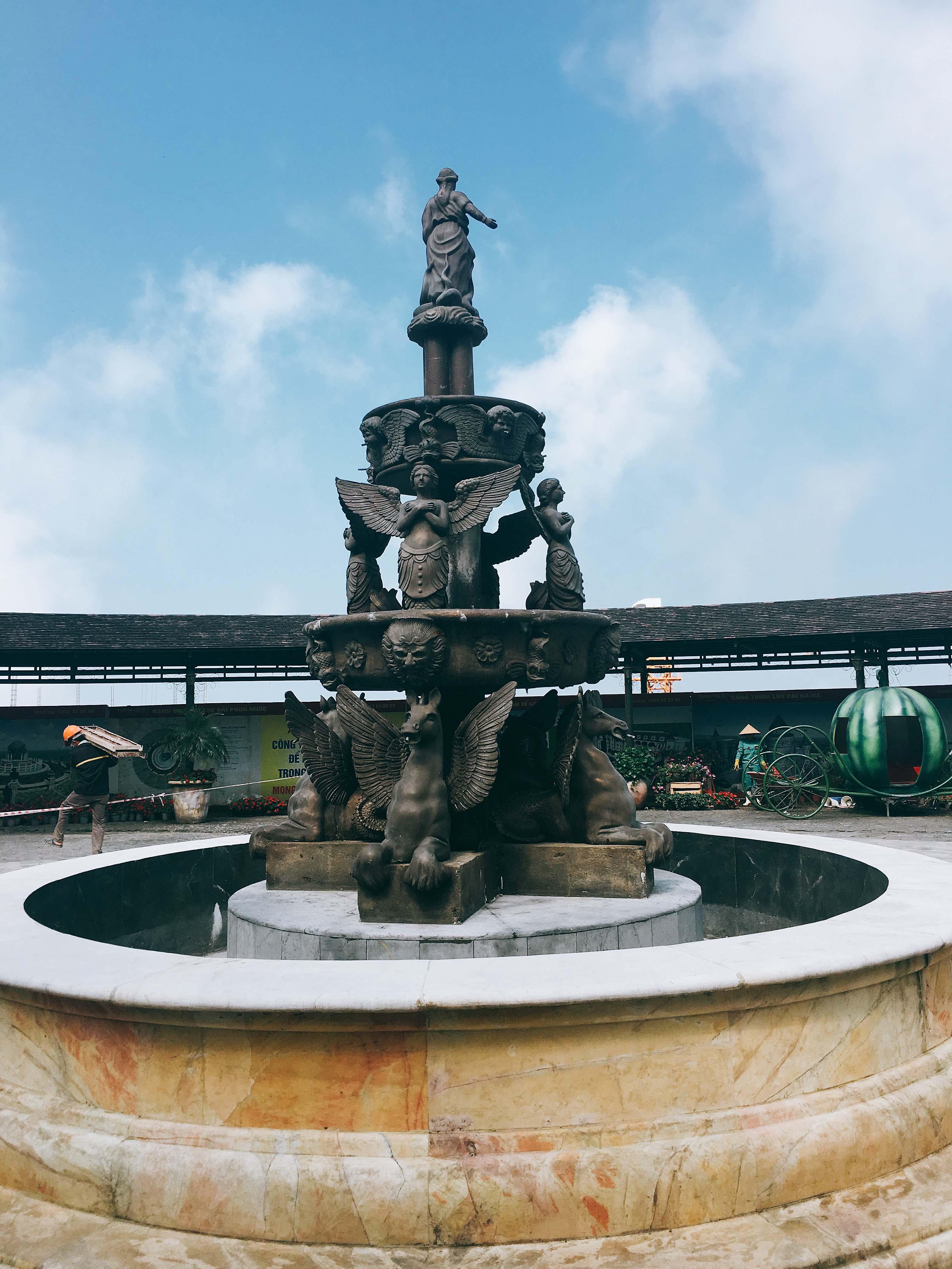 Đài phun nước cổ điển