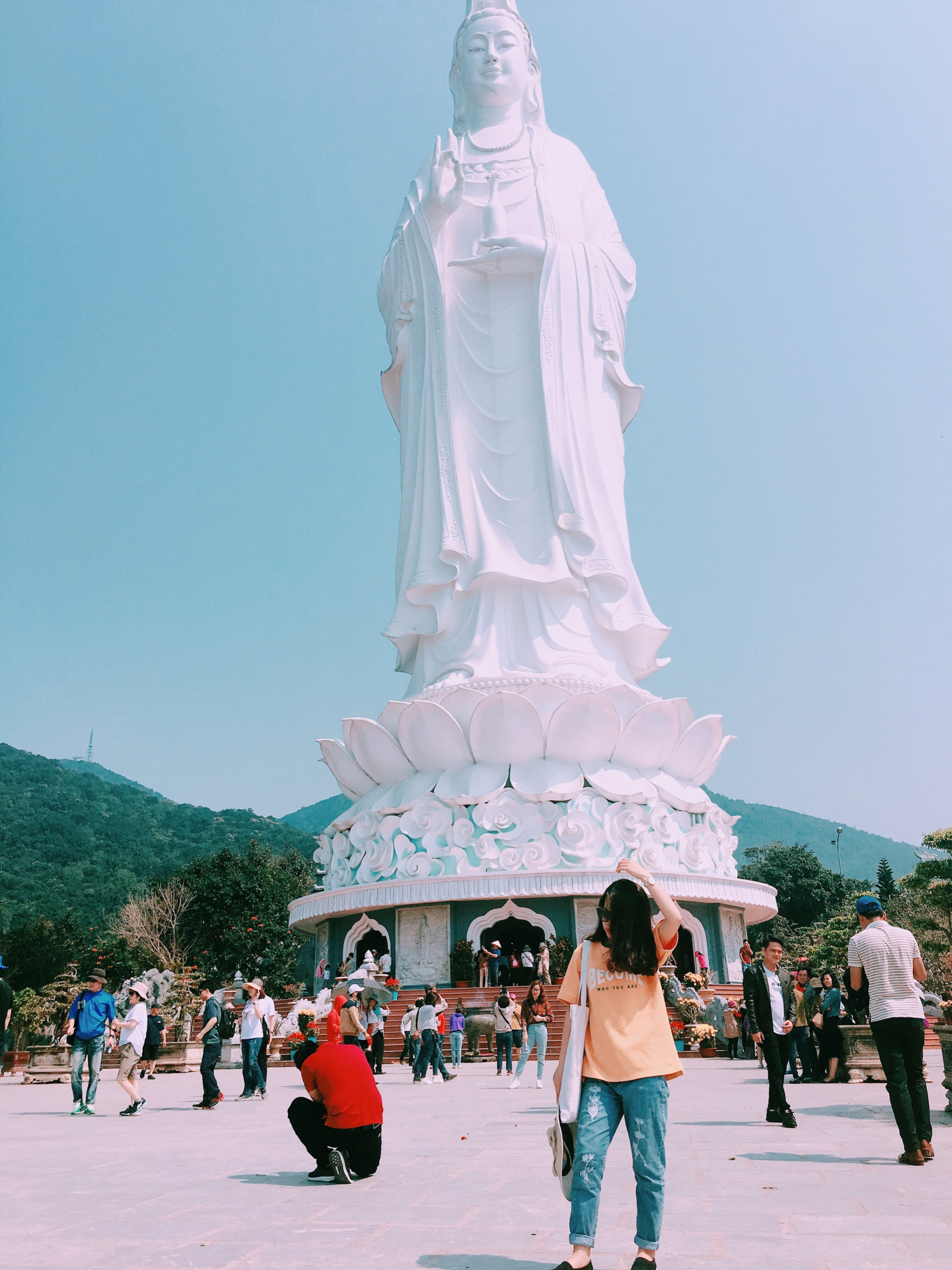 Tượng Phật Bà Quan Âm cao nhất Việt Nam