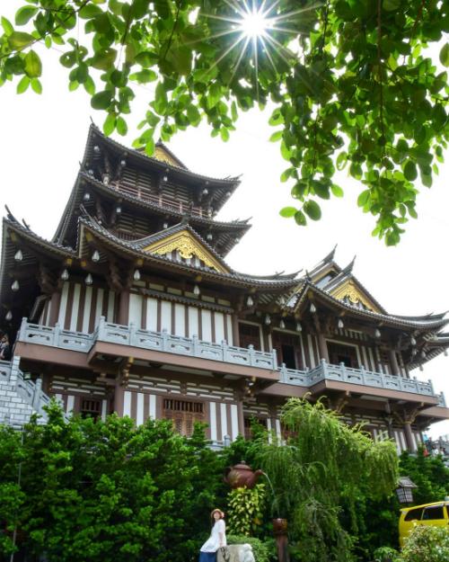 Tu viện Khánh An nằm ngay tại quận 12, TP HCM. Ảnh: pgbao
