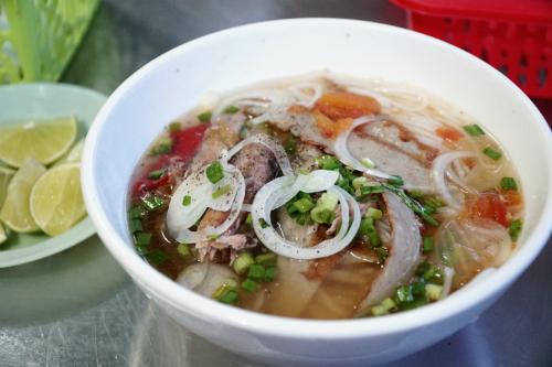Bún lá cá dầm - món ăn dễ gây hiểu nhầm tại Nha Trang