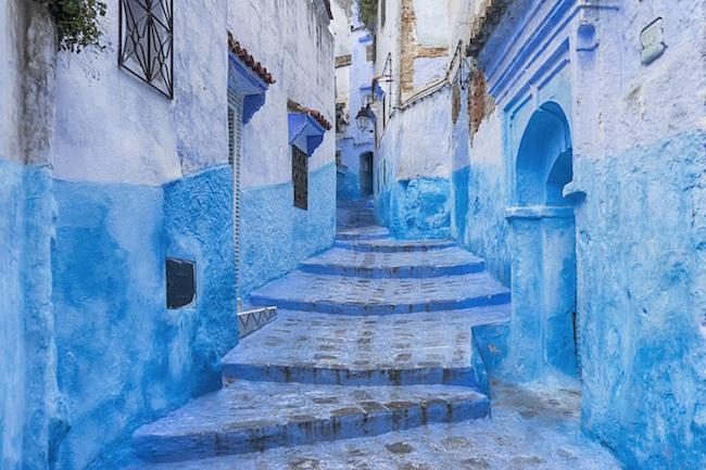 ciudades del mundo, Chefchaouen en Marruecos