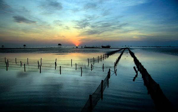 """Thái Bình không chỉ là """"Quê hương 5 tấn"""" mà còn sở hữu những bãi biển tuyệt đẹp."""